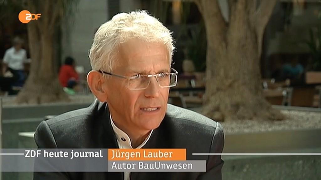 Innerhalb eine Jahres drei mal als Bauexperte im ZDF Heute/Journal und als Redner im Deutschen Bundestag.