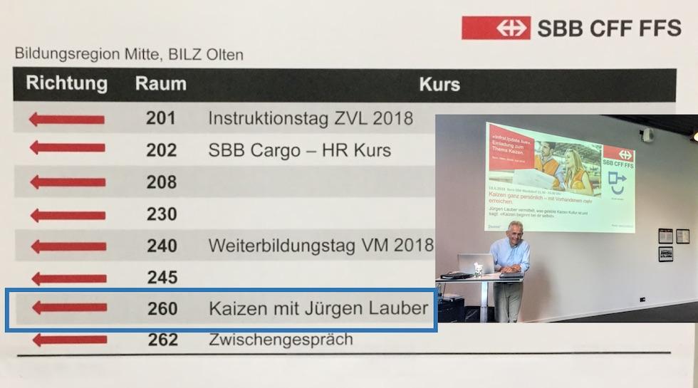 SBB Kaizen Mentor Besser werden